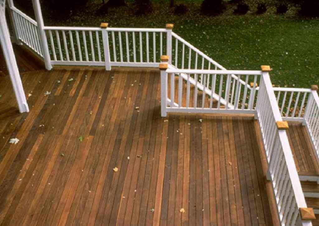 Instant Decking Panels : Wood decking ipe hardwood